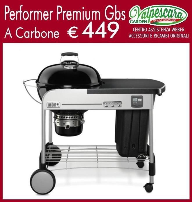 weber performer premium gbs