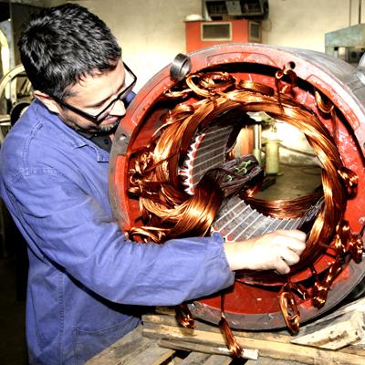 riparazione vendita motori elettrici