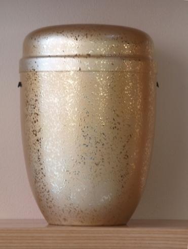 Urna cineraria in metallo