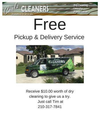 Carl's Cleaners, Boerne, Texas