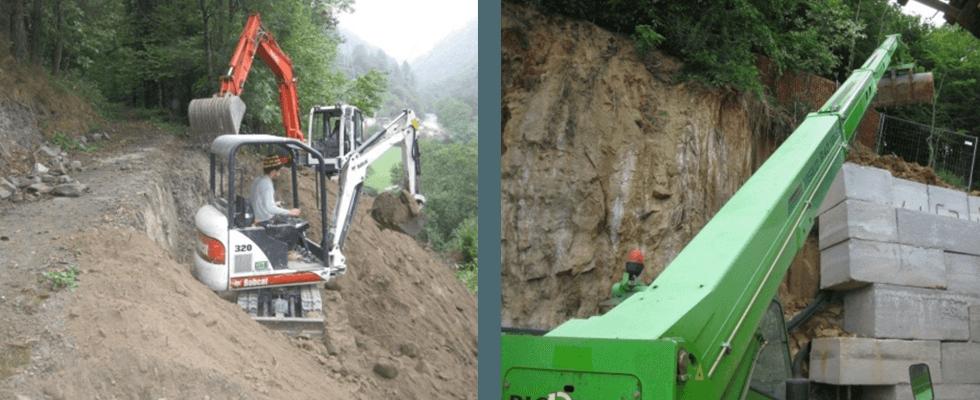 scavi e terrapieni