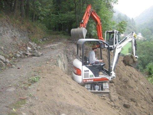 escavazioni val chisone val pellice