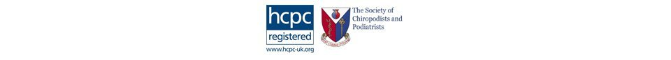 HCPC and The Society of Chiropodists and Podiatrists Logo