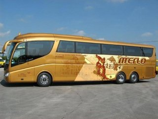 Irizar PB Scania hire