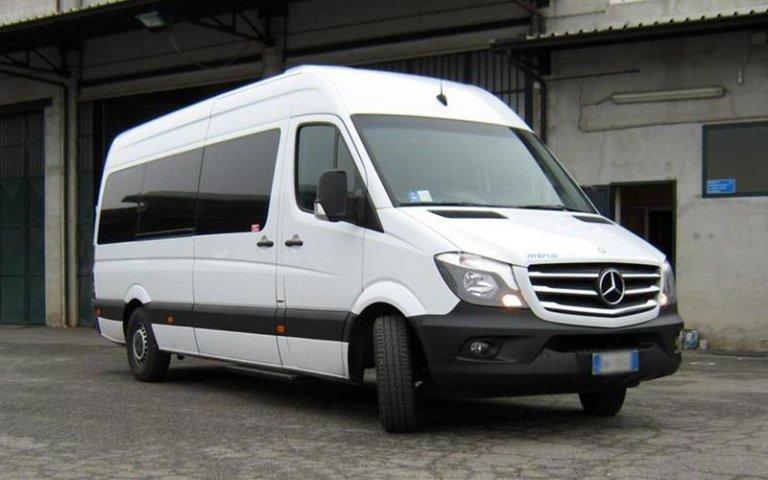 minibus avec chauffeur