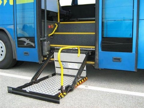 buses for the disabled for hire