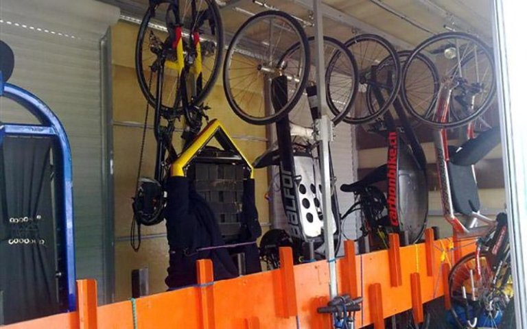 Bike transport trolley