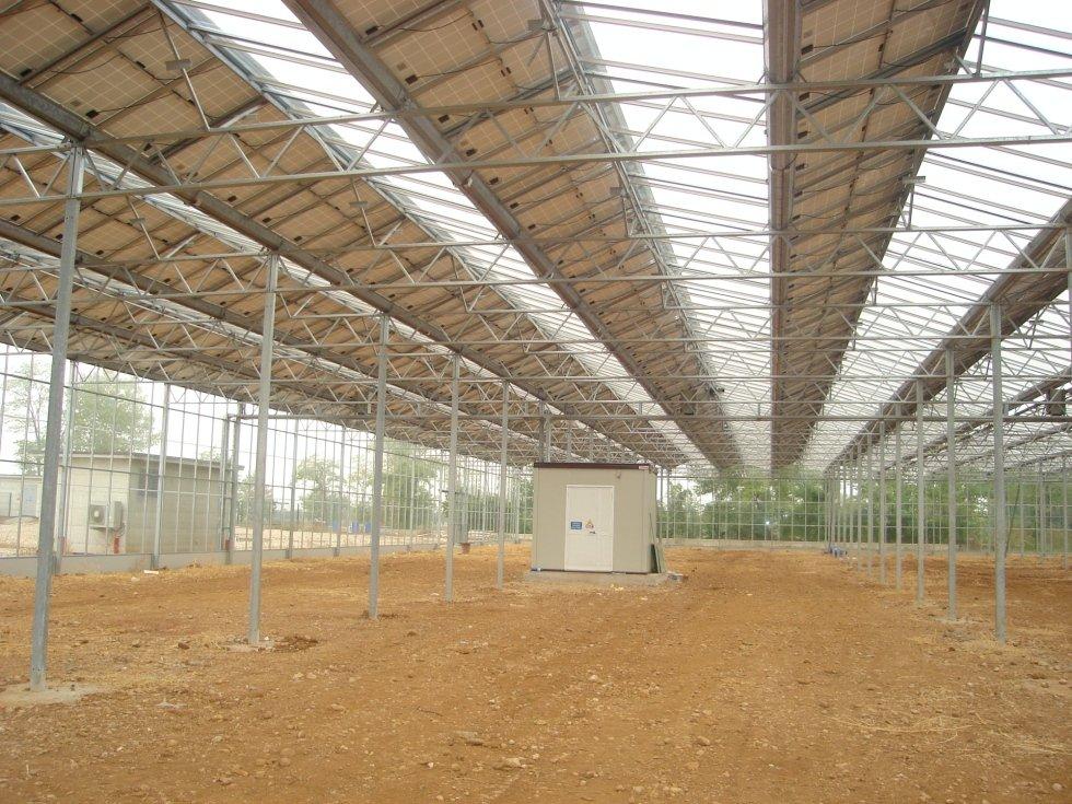 realizzazione serre con impianto fotovoltaico