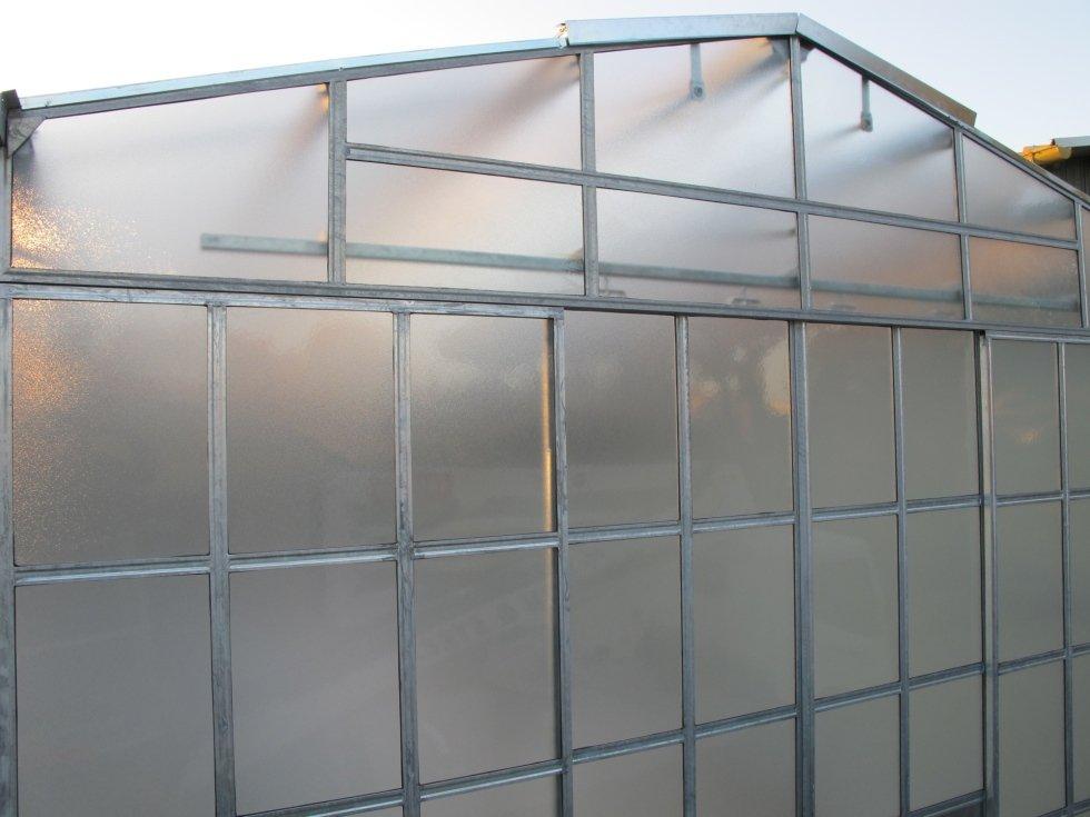 serra in vetro florovivaistica