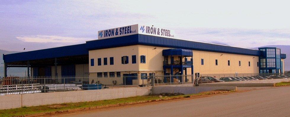 Iron e steel produzione