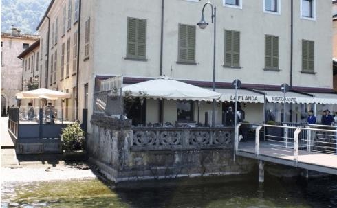 balconcino sul lago