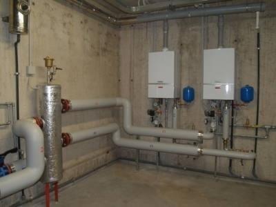 installazione impianti con caldaia