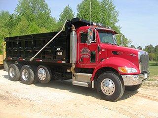 Dump Trucking, Garrett Trucking