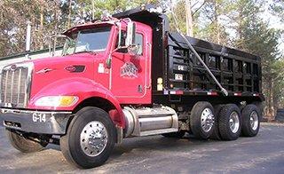 Dump Trucking, Fayetteville, NC