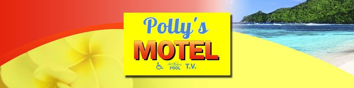 pollys motel header banner