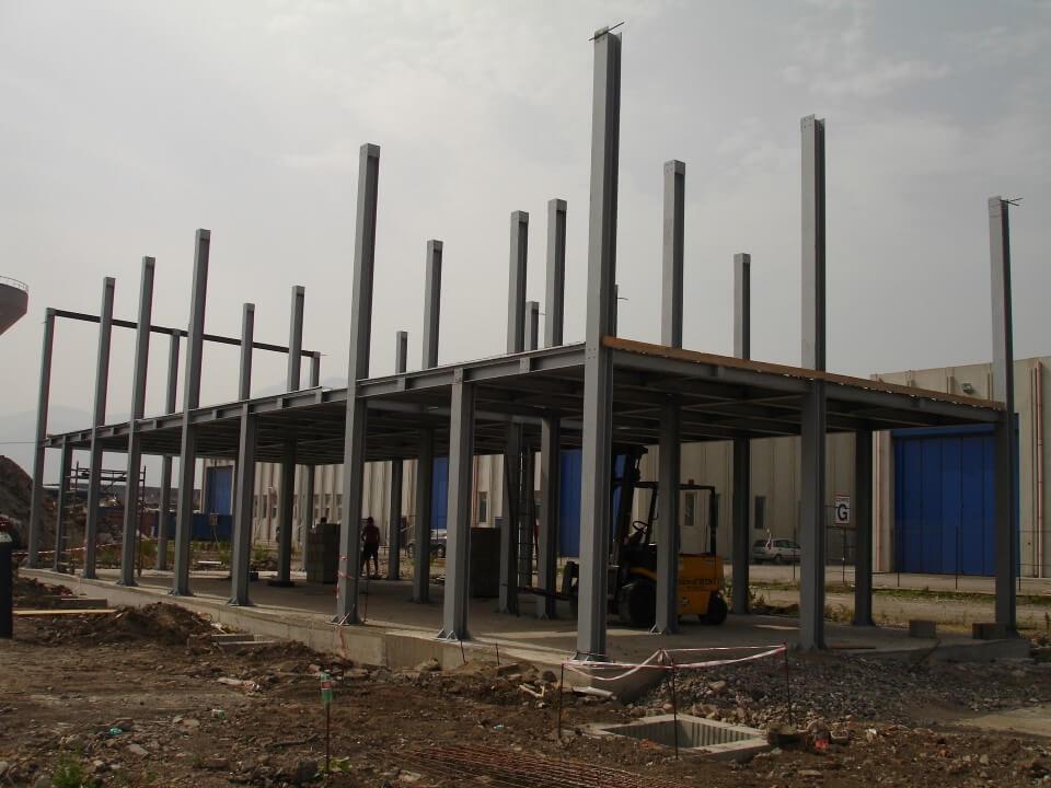 struttura in costruzione