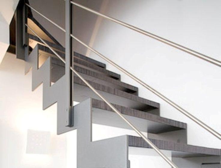 scale con corrimano metallo in ferro