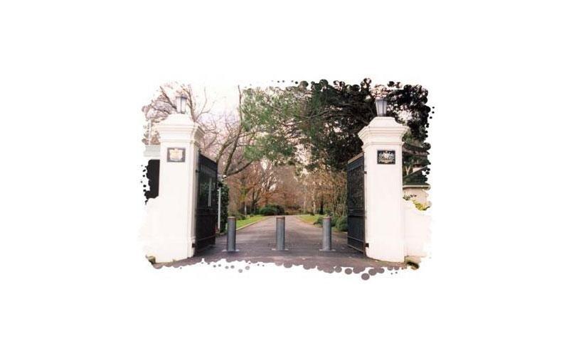 Cancello controllo accessi