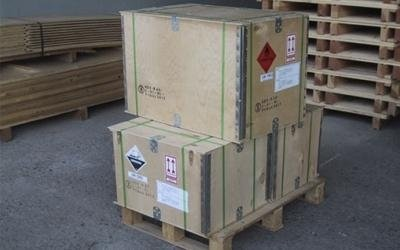 Boxes for goods shipments