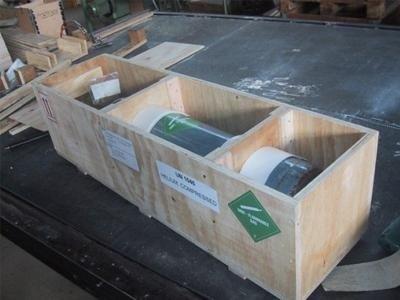Imballaggio materiale infiammabile
