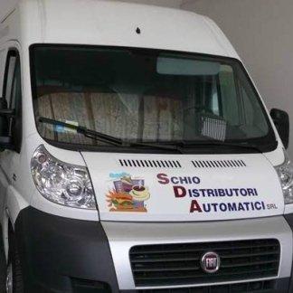 schio distributori automatici furgone