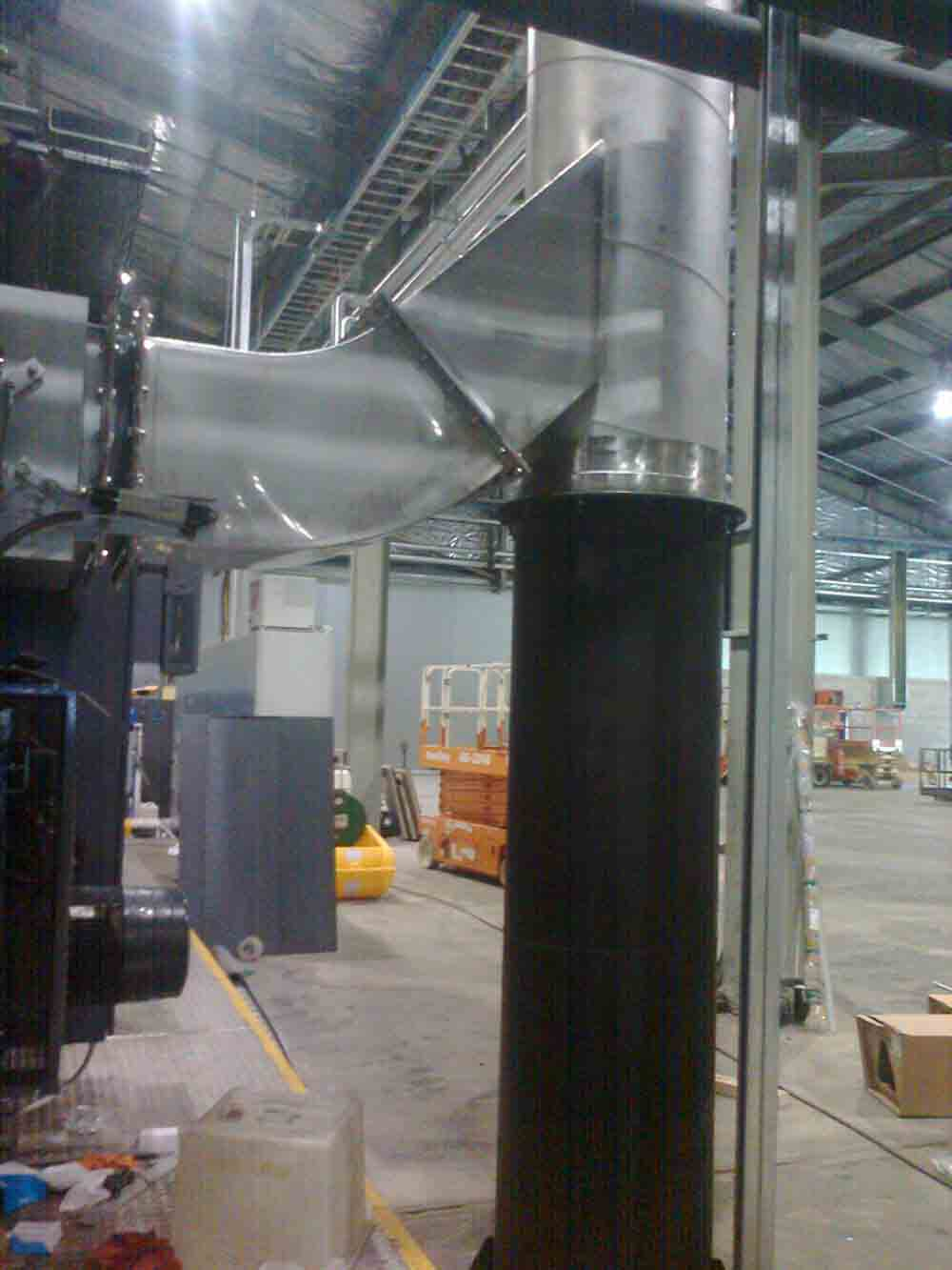 Stainless Steel Flue Transition