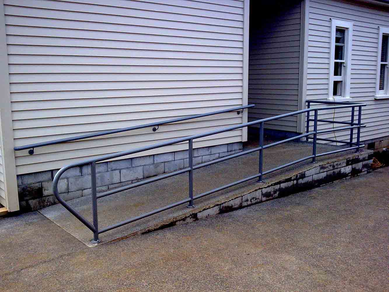 Handrail Powdercoated