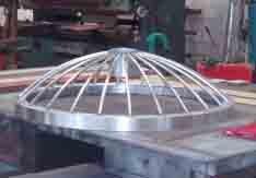 Open Culvert Grill Aluminium