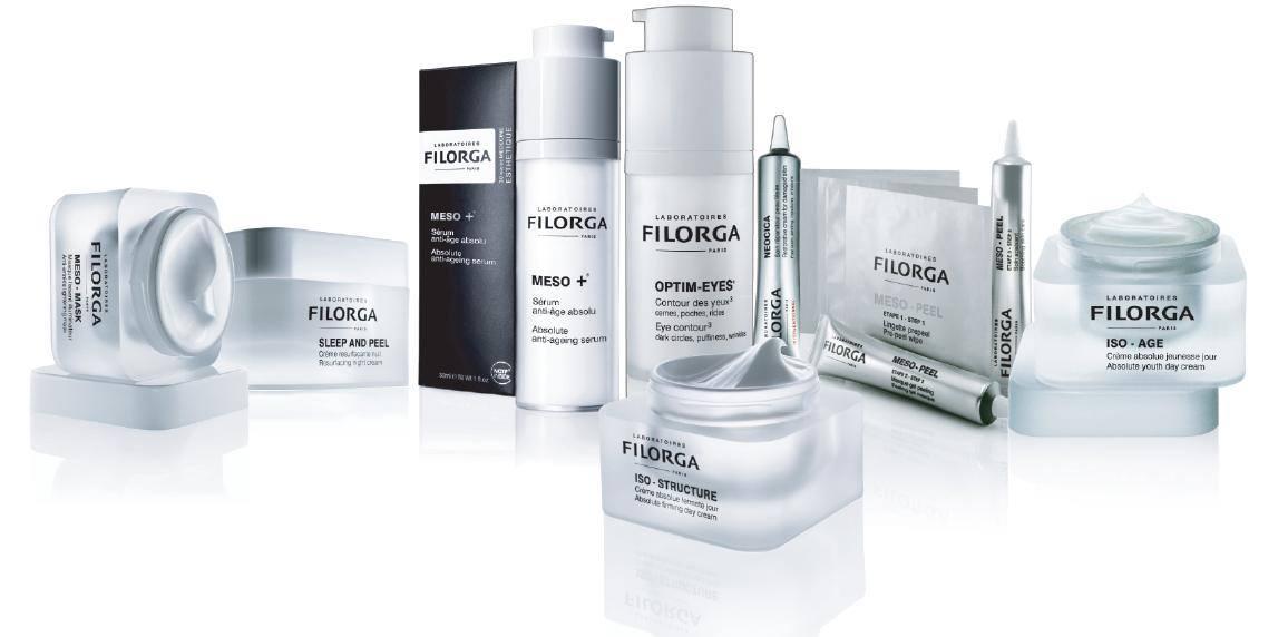 creme e prodotti per il trattamento viso a marchio FILORGA
