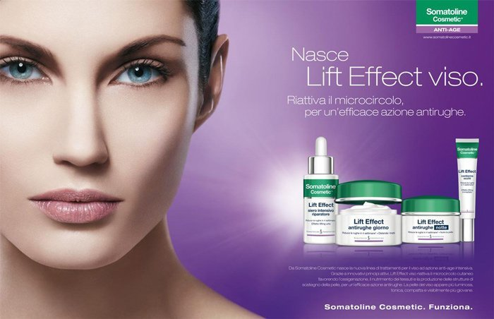 prodotti per il viso a marchio SOMATOLINE