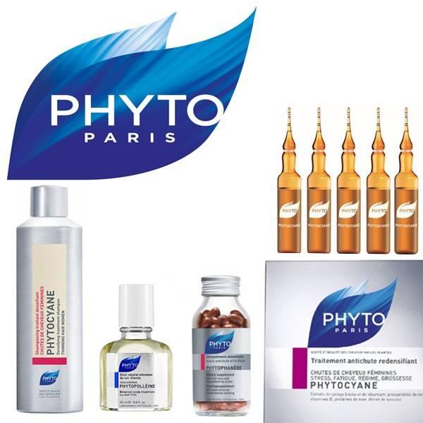 prodotti a marchio Phyto Paris