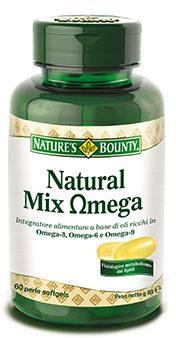 capsule omeopatiche Natural Mix Omega