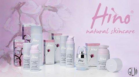 assortimento prodotti per la cura del corpo a marchio HINO