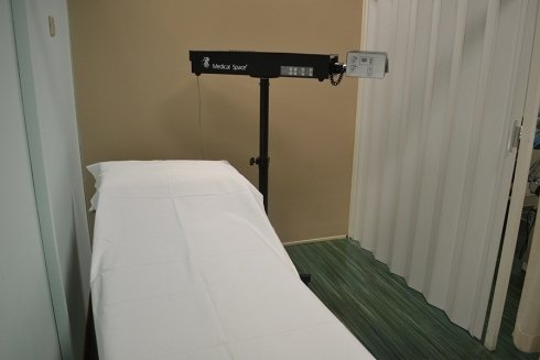 macchinario per trattamenti di fisioterapia