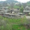 verdure fresche, coltivazione ortaggi, villaggio di montagna