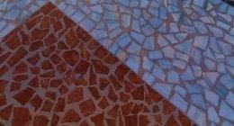 piastrelle, mosaici, mosaici colorati