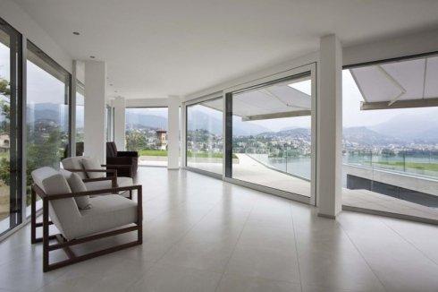 veranda con vetrate scorrevoli, progettazione veranda, veranda abitazione privata
