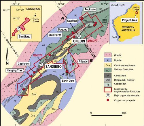 Koongie park map