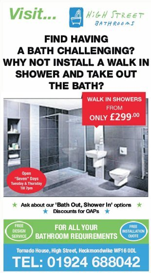 Bath Out Shower In