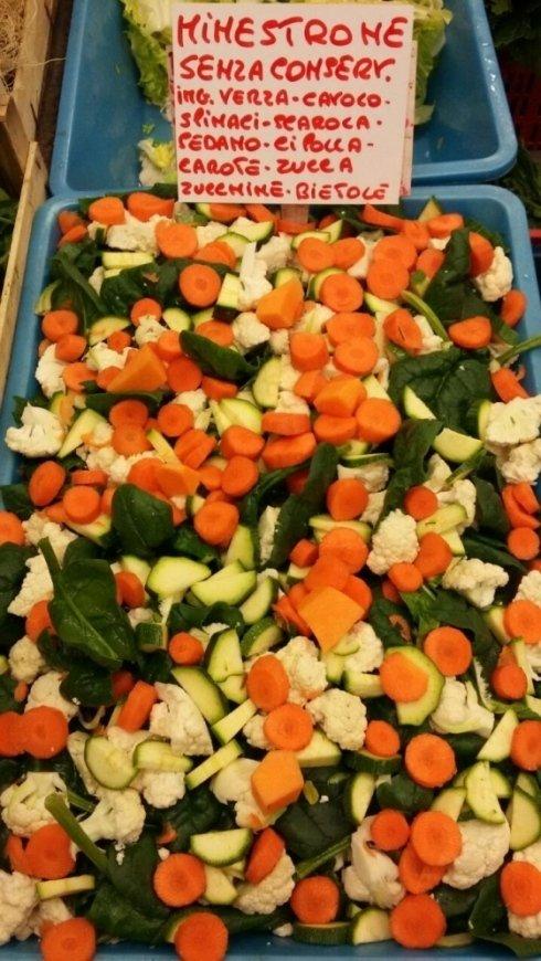 carote zucchine e cavolfiori