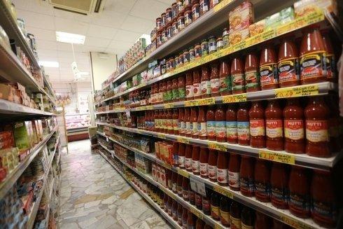 reparto alimentare supermercato trisss
