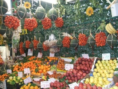 verdure fresche