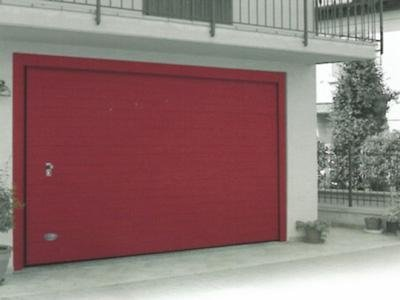 Portoni garage su misura