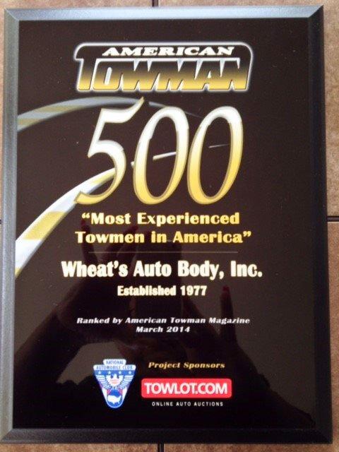Wheat's Auto Body Inc