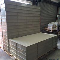 Plastic nest box plinths