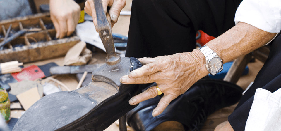 Shoe repair experts in Hammersmith