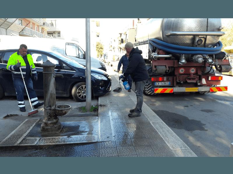 Lavaggio e disinfestazioni