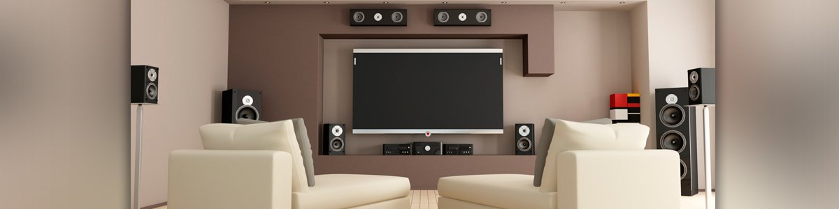 a and r electronics led tv and speakers