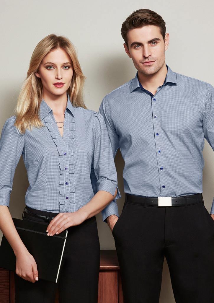 ballaratembroidery City Check Shirts