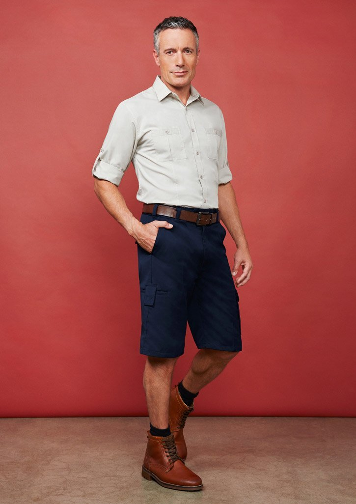 ballaratembroidery City Stretch Retro Stripe Shirt